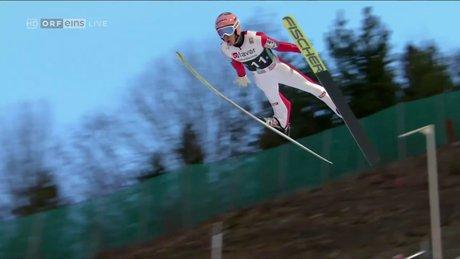 Kayakla atlamada yeni rekor