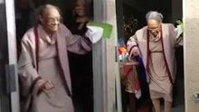 100 yaşındaki büyükanne böyle dans etti