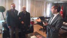 Niğde Şehit polis Sekin'in babası, Halisdemir'in kabrini ziyaret etti