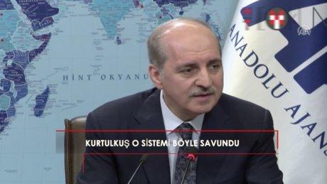 """Kurtulmuş: """"Türkiye'de bundan sonra yüzde 50 artı bir alan..."""""""
