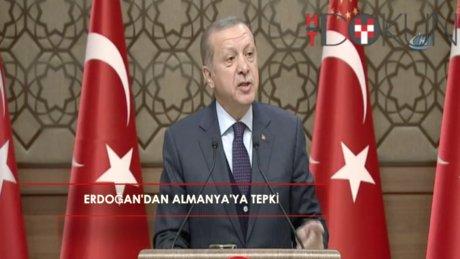 Erdoğan'dan Almanya'ya PKK tepkisi