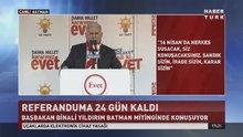Başbakan Binali Yıldırım konuşmasını kürtçe selamlayarak bitirdi