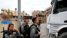 İsrail polisinden şiddet
