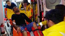 Antalya'da firari mahkumu kırık bacakları yakalattı