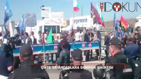 Bulgaristan'la sınırda 'seçim' gerilimi