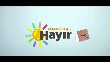"""CHP'den """"hayır"""" için yeni video klip"""