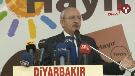 Kılıçdaroğlu Diyarbakırda