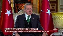 Cumhurbaşkanı Erdoğan ortak yayında konuştu
