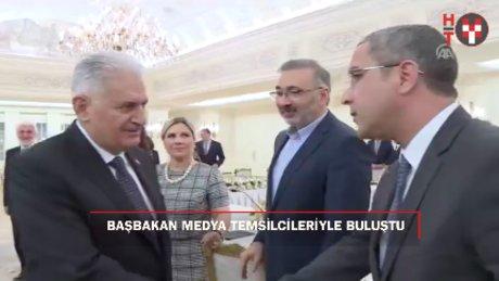 Başbakan Yıldırım medya temsilcileriyle