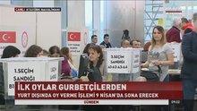 Referandum oylamaları sınır kapılarında bugün başladı