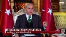 Cumhurbaşkanı Recep Tayyip Erdoğan ortak yayında soruları yanıtladı
