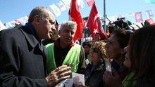 """Cumhurbaşkanı Erdoğan: """"Bugün evet çadırına uğradım"""""""