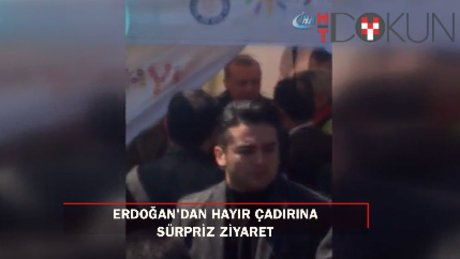 """Cumhurbaşkanı Erdoğan """"hayır"""" çadırında!"""