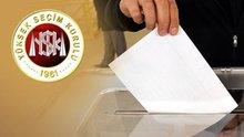 Yurt içi oy verme işlemi