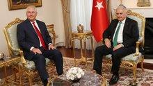 Başbakan Yıldırım, ABD Dışişleri Bakanı Rex Tillerson'ı kabul etti
