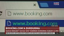 Booking.com'a durdurma