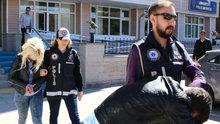 Sahte para ile alışveriş yapan sevgililer tutuklandı