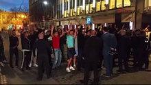 Brüksel'de Türk Başkonsolosluğu önünde referandum kavgası