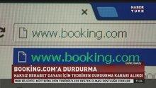Booking.com'a durdurma