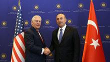 Çavuşoğlu ile Tillerson'dan ortak basın toplantısı