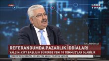 MHP Genel Başkan yardımcısı Semih Yalçın Habertürk TV'de
