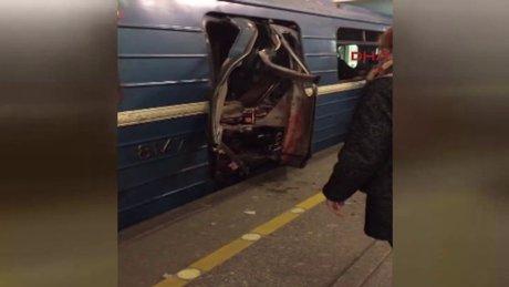 Rusya'da St. Petersburg metrosunda patlama