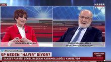 Saadet Partisi Genel Başkanı Temel Karamollaoğlu Habertürk TV'de