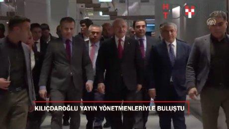 Kılıçdaroğlu, TV yayın yönetmenleriyle buluştu