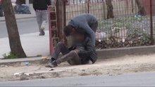 Uyuşturucu kullanan gençlerin ibretlik görüntüleri kameralara yansıdı