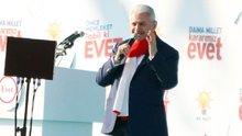 Başbakan Yıldırım'dan CHP'li Hüsnü Bozkurt'a tepki