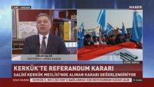 Türkmen Cephesi Başkanı Salihi'den referandum kararına ilk yorum