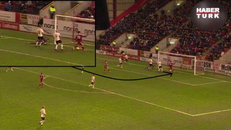 İskoçya Ligi'nde kaçan gol, taraftarları kahretti