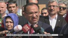Adalet Bakanı Bekir Bozdağ, Kılıçdaroğlu'nun sözlerine yanıt verdi