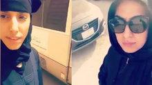 Suudi kadınlardan araba kullanma yasağına karşı ilginç protesto!