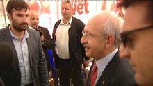 """CHP Genel Başkanı Kılıçdaroğlu """"Evet"""" çadırında"""