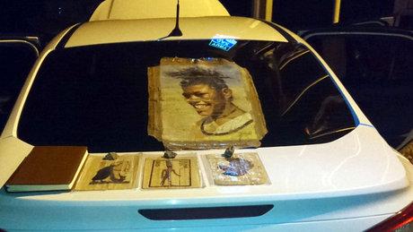 Erzurum'da Picasso tablosu ele geçirildi