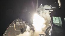 ABD Suriye'yi böyle vurdu!