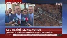 Dışişleri Bakanı Çavuşoğlu'ndan ABD'nin müdahalesiyle ilgili açıklama