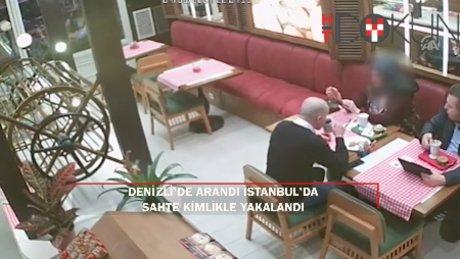 Denizli'de aranan FETÖ'cü işadamı İstanbul'da sahte kimlikle yakalandı!