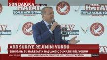 Cumhurbaşkanı Erdoğan: ABD'nin Suriye'deki adımı olumlu ama yetersiz
