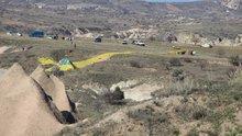 Kapadokya'da balon düştü: 1 ölü, 20 yaralı