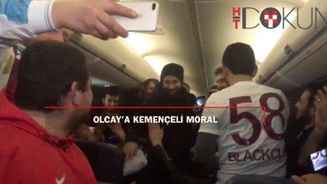 Olcay'a kemençeli moral
