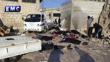 İdlib'te fosfor gazı saldırısı