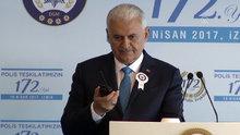 Başbakan Yıldırım polis teşkilatını telsizden kutladı