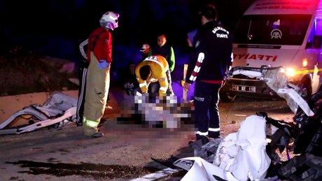 Fenerbahçe-Akhisar Belediyespor maç sonrası kaza