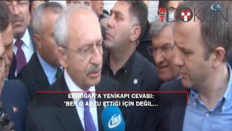 """Kılıçdaroğlu'ndan Erdoğan'a 'Yenikapı' cevabı: """"Ben o arzu ettiği için değil..."""""""