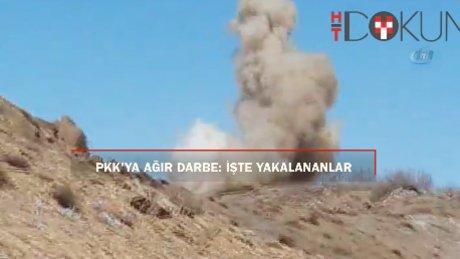 PKK'ya ait 979 sığınak imha edildi