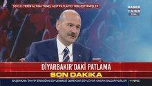 Süleyman Soylu: Diyarbakır'daki patlama terör saldırısı!