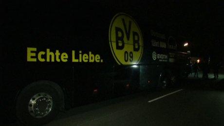 Borussia Dortmund-Monaco maçı öncesi patlama: 1 yaralı