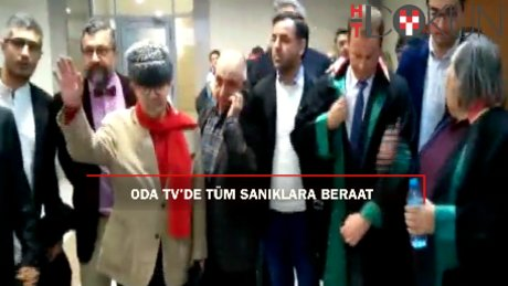 Oda TV'de karar: Tüm sanıklara beraat!
